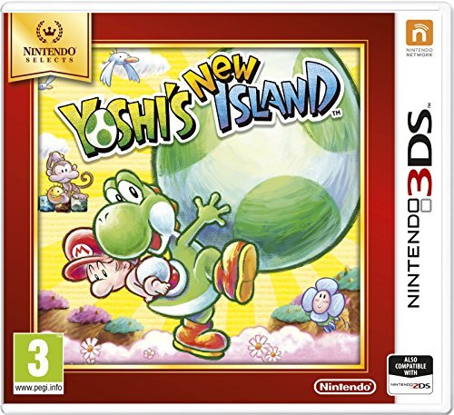 Nintendo DS 3D - YOSHIS NEW ISLAND SELECTS GAME