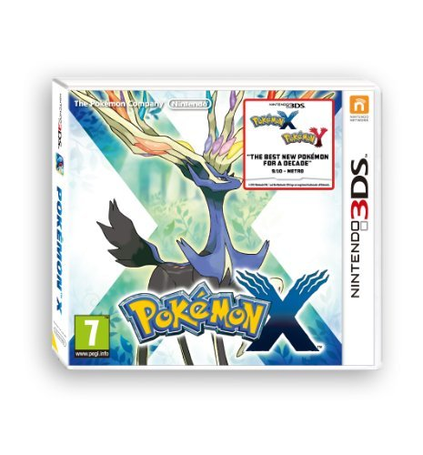 3DS - Pokemon X /3DS GAME