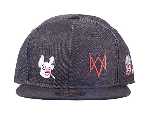 - Watch Dogs: Legion - Denim Snapback Watch Dogs: Legion, Black (Men`s)