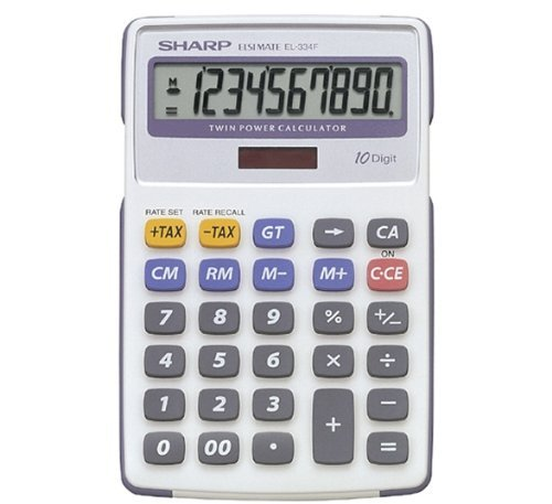 - Sharp Calc Desk Top EL334FB