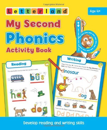 HOLT, LISA - MY SECOND PHONICS ACTIVITY BOOK BOOK
