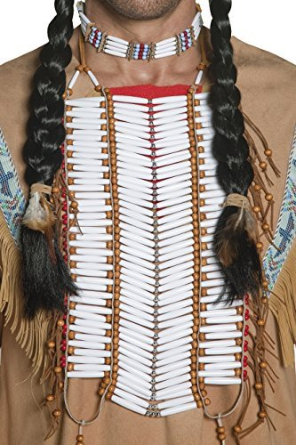 Native American Inspired Breastplate, Cream