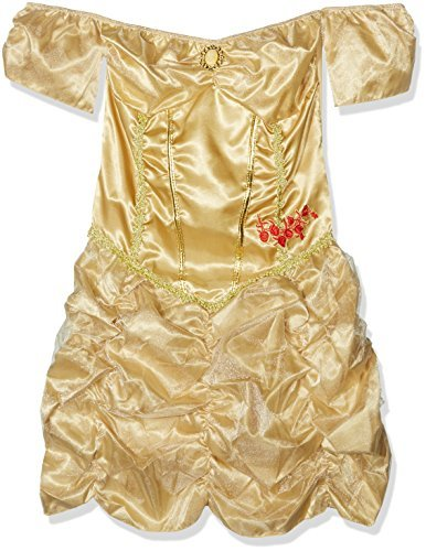 Fever Golden Princess Costume, Gold, with Dress -  (Size: UK Dress 12-14)