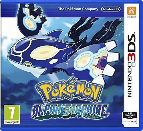 3DS - Pokemon Alpha Sapphire /3DS GAME