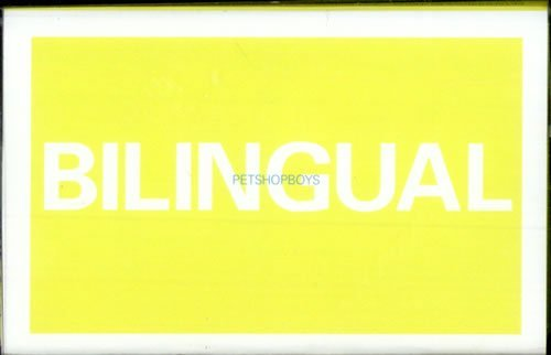 - Pet Shop Boys-Bilingual CASS