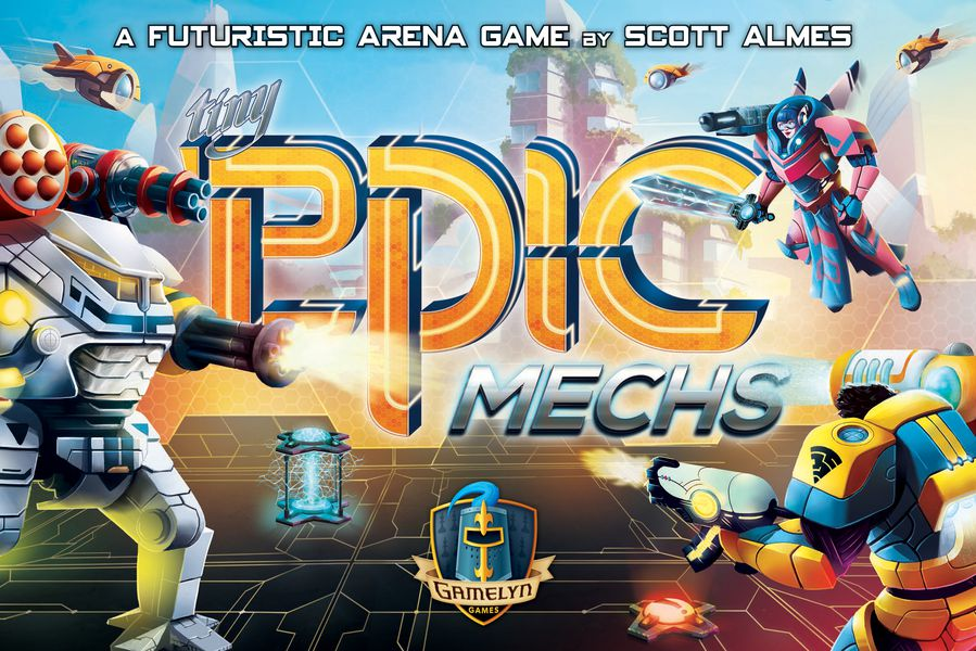 - Tiny Epic Mechs - Boardgame (English) (Glgtem) TOY
