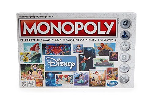 Hasbro - Monopoly Disney Animation GAME