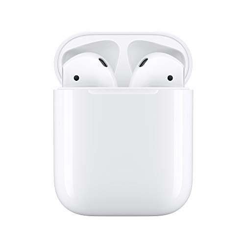 - Apple Airpods With Charging Case - 2Nd Generation - True Wireless Earphones With Mic - Ear-Bud - Bluetooth