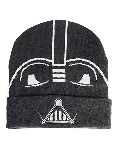 - Star Wars - Star Wars Classic Vader Beanie Star Wars: Episode IV - A NEW, Black (Men`s)