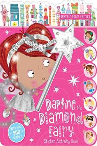 Book - Daphne the Diamond Fairy Sticker Activity Book and Wand Pen /Book BOOK