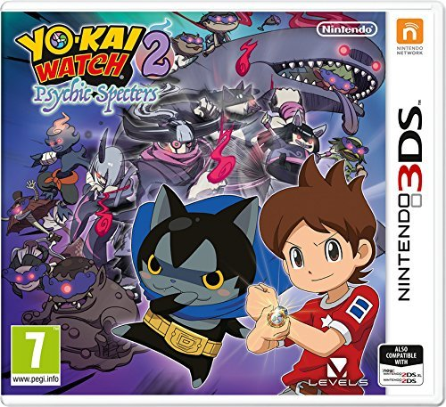 Nintendo DS 3D - YO KAI WATCH 2 PSYCHIC SPECTER GAME