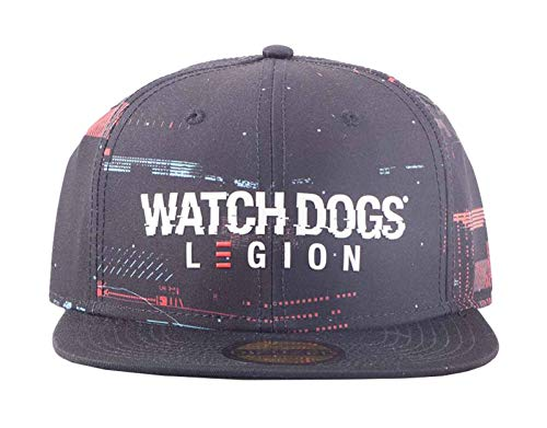 - Watch Dogs: Legion - Glitch Snapback Watch Dogs: Legion, Black (Men`s)