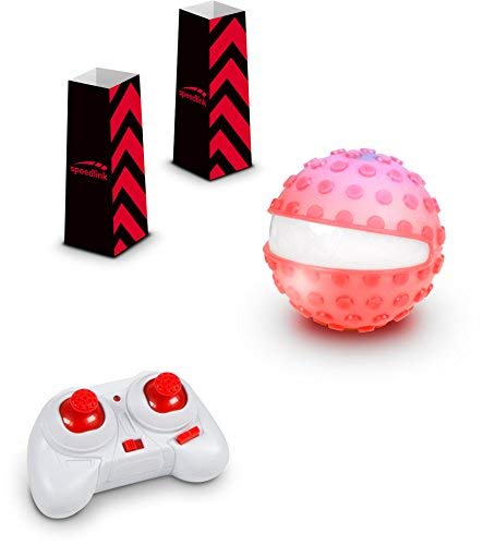 SPEEDLINK - Speedlink Racing Sphere Game Set, Red (Sl-920013-Rd)