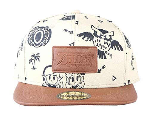 - Zelda - Link`s Awakening Snapback Cap The Legend of Zelda, Black (Men`s)
