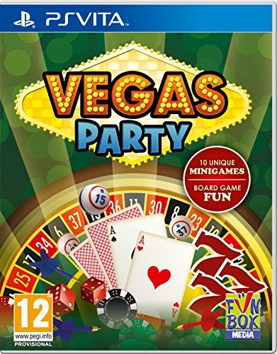 - Vegas Party PS Vita Game GAME