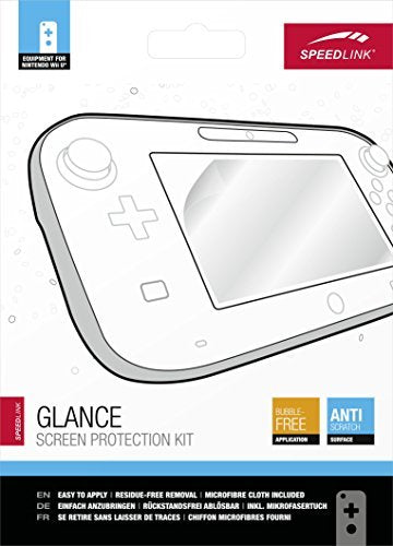 - Glance Screen Protection Kit WiiU (Speedlink) - GAME