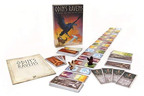 Gimmler Thorsten - Odin'S Ravens (A Mythical Race Game For 2 Players)