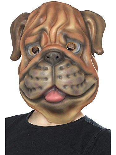 Dog Mask, Brown, EVA