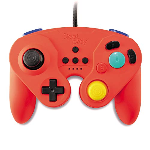 GC - Steelplay - GCube Wired Controller (RED) /Switch