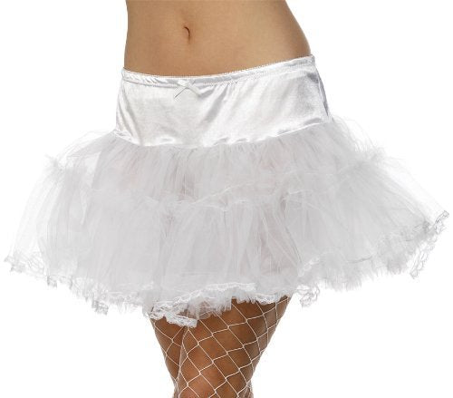 Tulle Petticoat, White -  (Size: UK Dress Size 6-18)