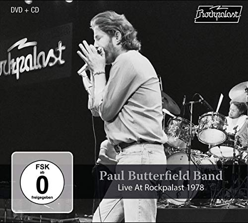 - Paul Butterfield Band-Live At Rockpalast 1978 CD