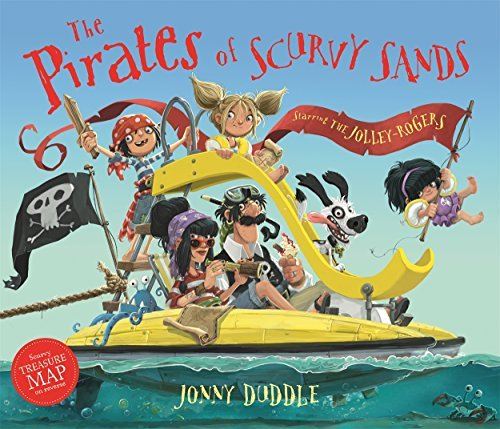 DUDDLE,JONNY - PIRATES OF SCURVY SANDS BOOKH