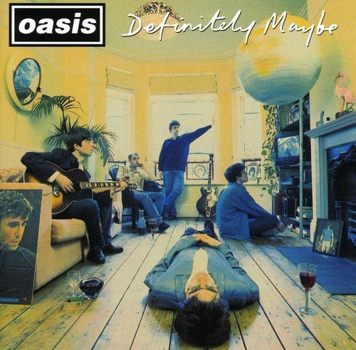 OASIS - Oasis - Definitely Maybe CD