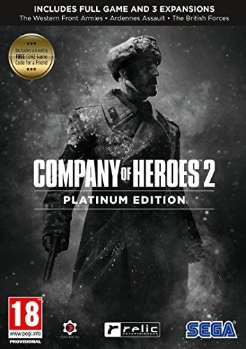 Software - PC Games - Company Of Heroes 2: Platinum Ed GAME