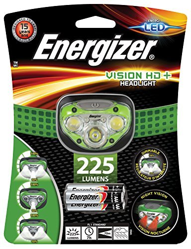 - Energizer Vision HD Plus Headlight