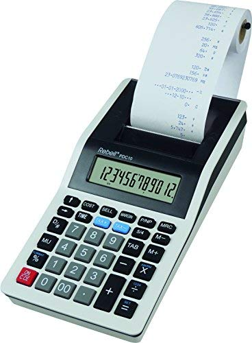 - Rebell Pdc10 Wb Printing Calculator