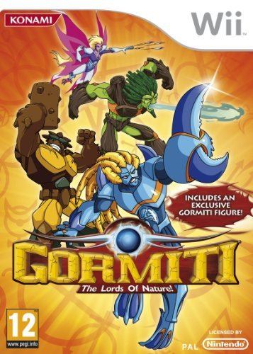 Wii - Gormiti: The Lords Of Nature! (Incl. Exclusive Gormiti Figure) /Wii GAME