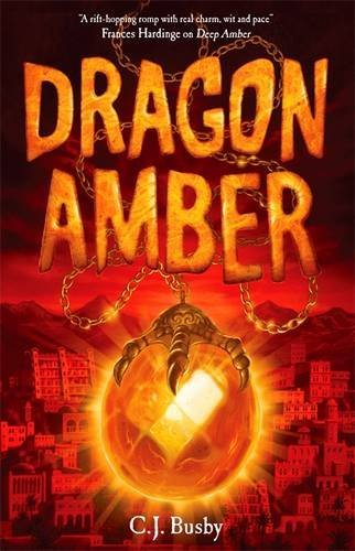 BUSBY, C - DRAGON AMBER BOOK