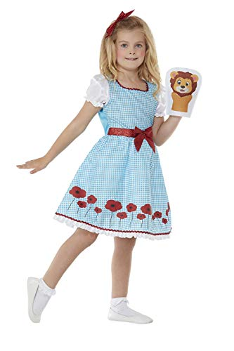 - Deluxe Country Girl Costume, Dress, Bow & Hand Puppet COST-W