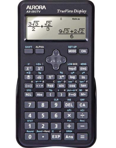 - Aurora Ax595Tv Scientific Calculator Blk
