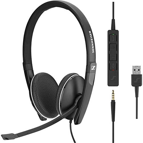 - Sc 165 Usb Wired Binaural Uc Headset Wit