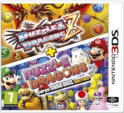 3DS - Puzzle & Dragons Z + Puzzle & Dragons Super Mario Bros. Edition /3DS GAME