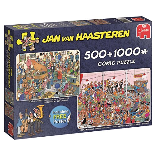 - Puzzle JvH - 2 in 1 Lets Party ( 500 Pcs and 1000 Pcs ) -