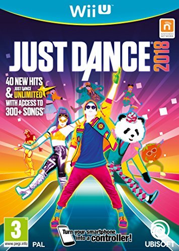 - Just Dance 2018 Wii U Game GAME