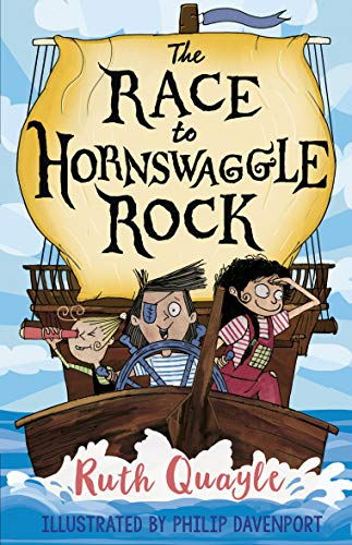 QUAYLE,RUTH - RACE TO HORNSWAGGLE ROCK, THE BOOK