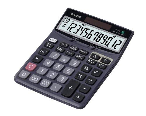 - Casio Dj-120D Desktop Calculator