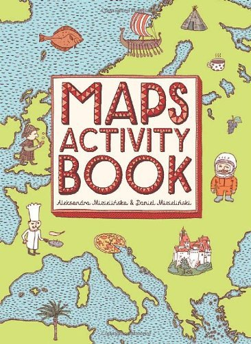 MIZIELINSKA - MAPS ACTIVITY BOOK BOOK