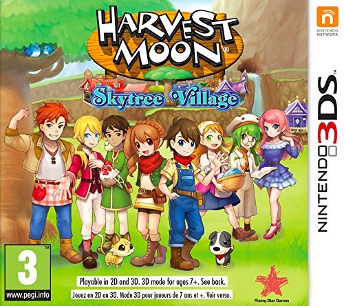 3DS - Harvest Moon: Skytree Village /3DS GAME