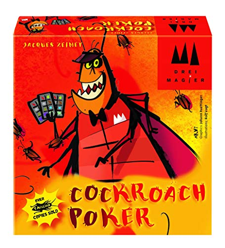 - Cockroach Poker Card Game GAME