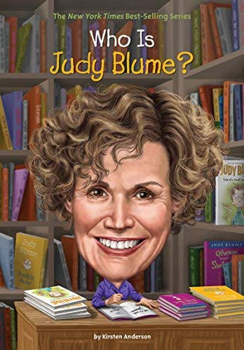 Anderson Kirsten/ Who Hq (Cor)/ Hammond Ted (Ilt) - Who Is Judy Blume? BOOK