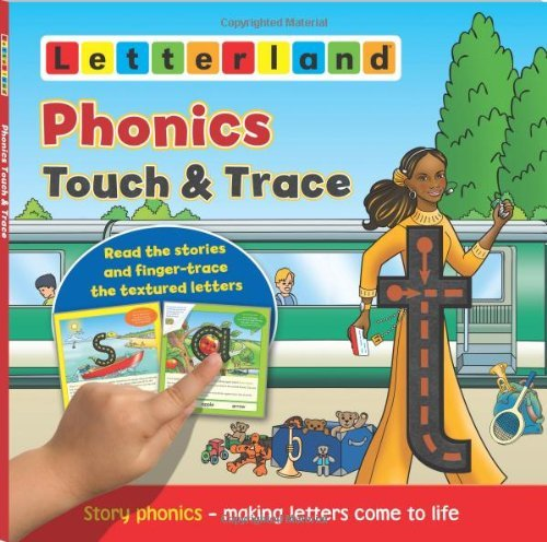 HOLT, LISA - PHONICS TOUCH & TRACE BOOK