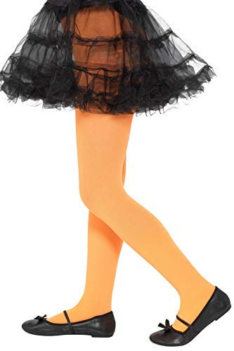 Opaque Tights, Orange, Age 6-12
