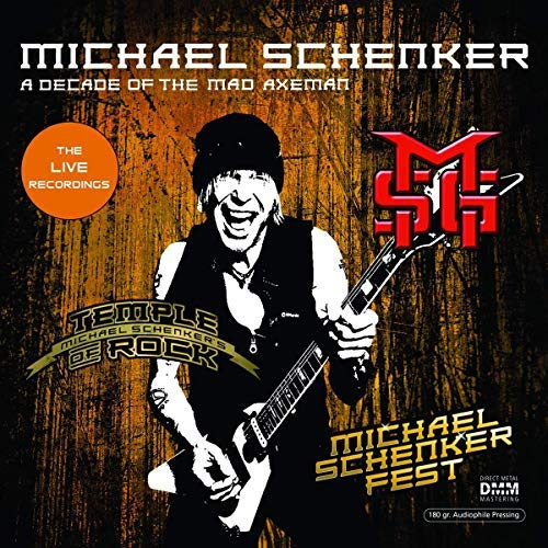 Schenker Michael - A Decade Of The Mad Axeman  Lr VINYL