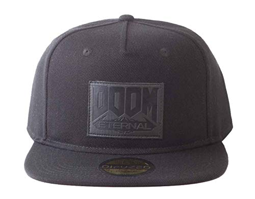 - Doom Eternal - Retro Snapback Cap Doom, Black (Men`s)
