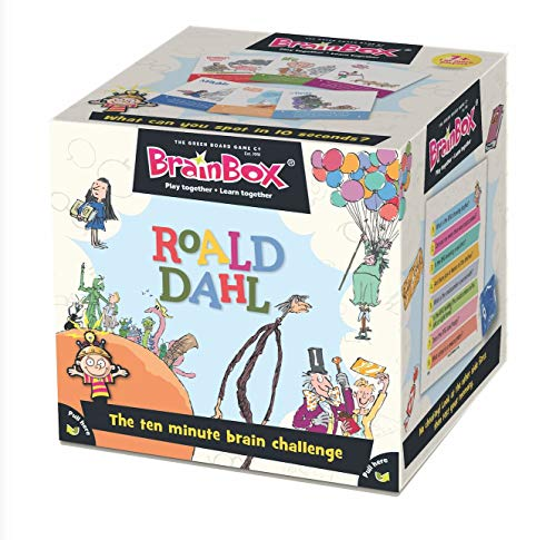 ROALD DAHL - Brainbox Roald Dahl New Edition (55 Cards) Board Game