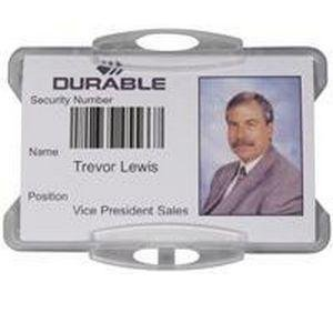 - Durable Security Pass Badge Holder 999108000 (PK50)